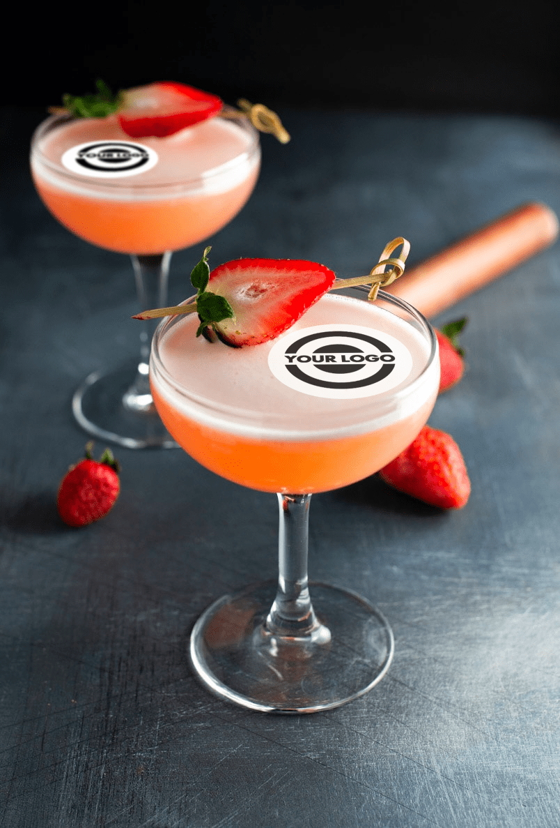 Personalised Drink Toppers