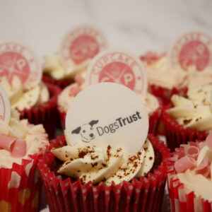 Dogs Trust Charity Cupcake Decoration